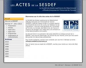 SESDEF Journal